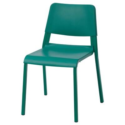 TEODORES Stuhl grün 110 kg 46 cm 54 cm 80 cm 40 cm 37 cm 45 cm