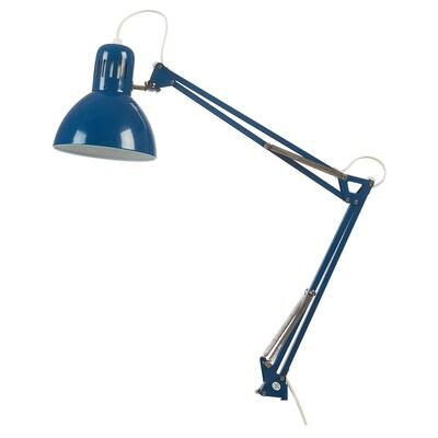 TERTIAL Arbeitsleuchte blau 13 W 17 cm 1.5 m