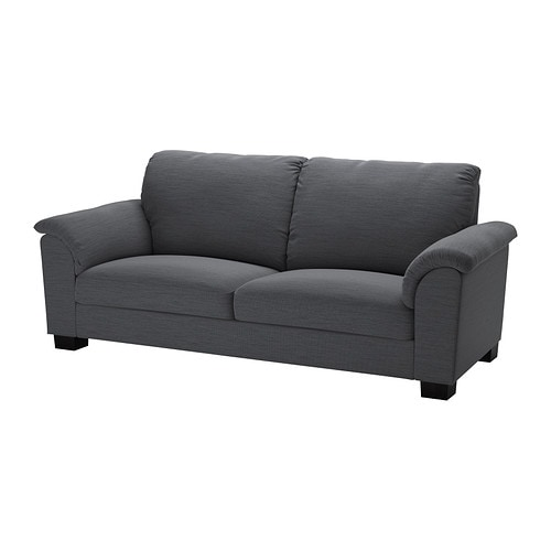 tidafors 3er sofa hensta grau ikea. Black Bedroom Furniture Sets. Home Design Ideas