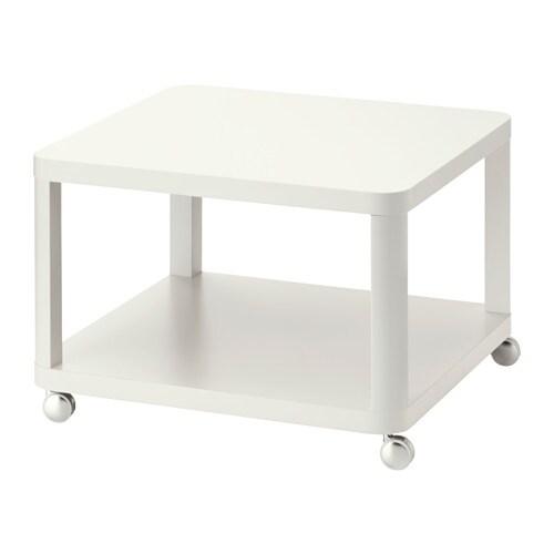 Ikea Aufbewahrung Mit Rollen ~ TINGBY Beistelltisch mit Rollen Mit praktischer Ablage für Zeitungen