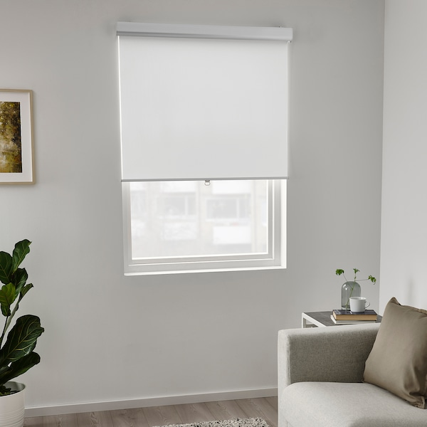 TRETUR Verdunklungsrollo, weiß, 60x195 cm