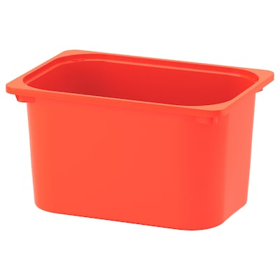 TROFAST Box, orange, 42x30x23 cm