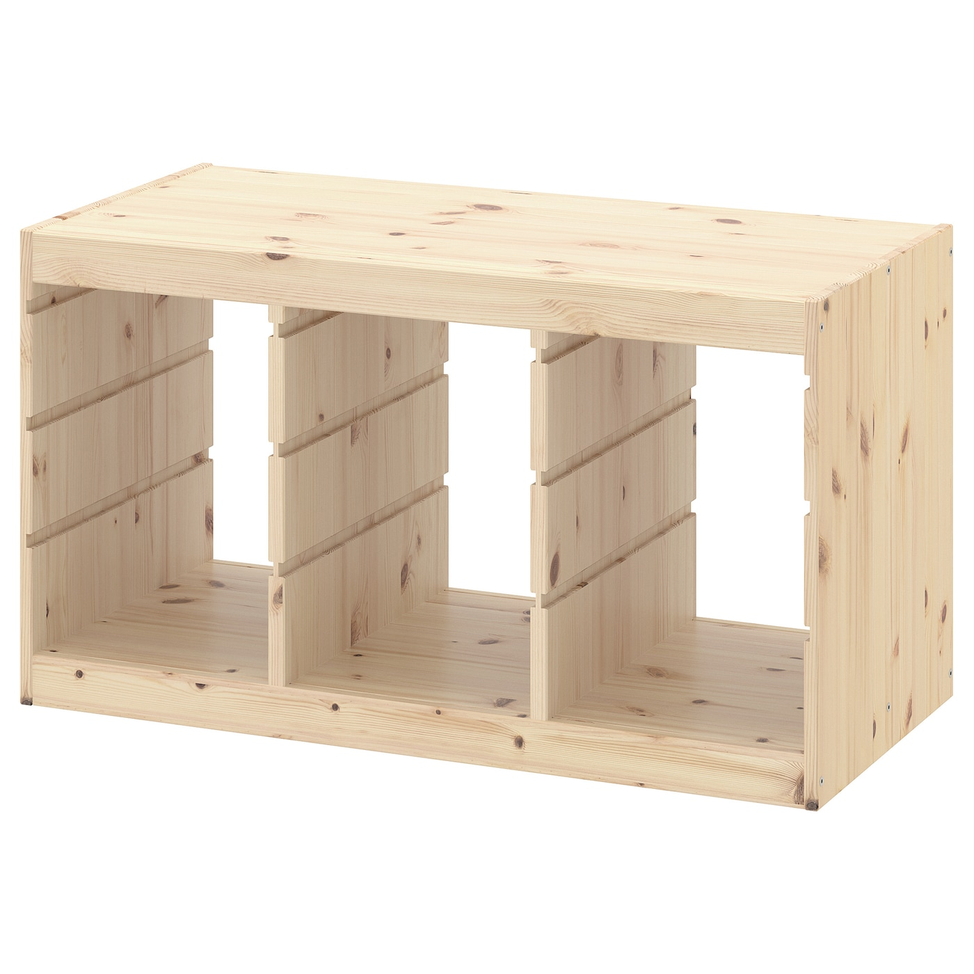 IKEA Regalrahmen 99x44x56 cm Aufbewahrung Kinder Regal Rahmen weiß Ordnung Neu