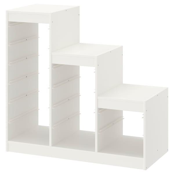 TROFAST Regalrahmen, weiß, 99x44x94 cm
