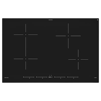 UTNÄMND Induktionskochfeld, IKEA 500 schwarz, 78 cm