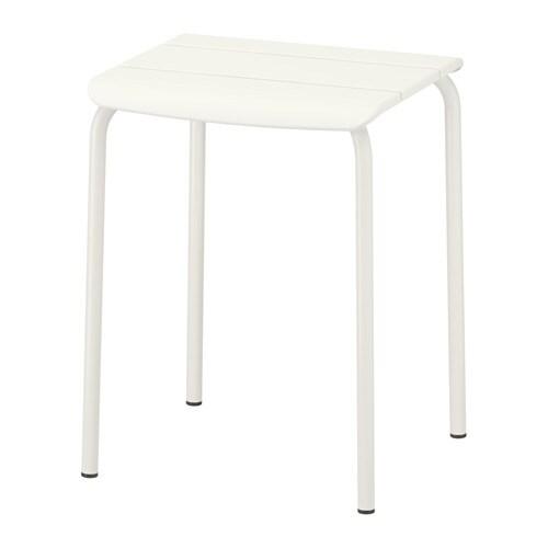 Ikea Godmorgon Keramag Icon ~ IKEA  Hocker außen, weiß, Gartenmöbel, Größe Breite 36 cm