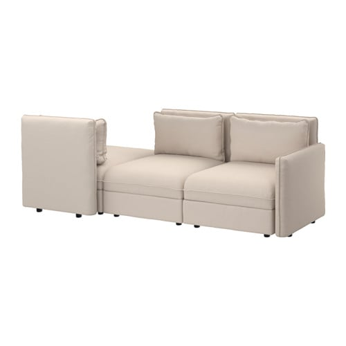 vallentuna 3er sofa orrsta beige ikea. Black Bedroom Furniture Sets. Home Design Ideas