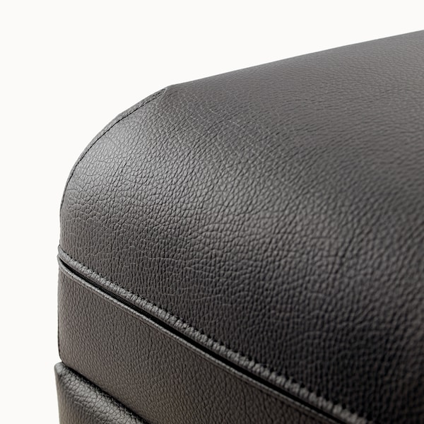VALLENTUNA Bettsofaelement Murum schwarz 80 cm 100 cm 45 cm 80 cm 200 cm