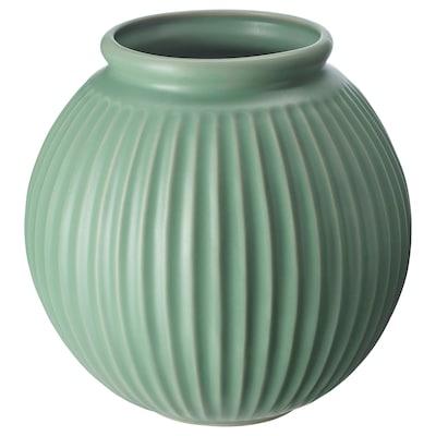 VANLIGEN Vase grün 18 cm 18.5 cm