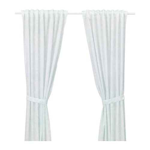 Kleiderschrank Leuchten Ikea ~ Gardinen + Raffhalter Kann mit aufbügelbarem Saumband ohne