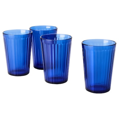 VARDAGEN Glas, blau, 31 cl
