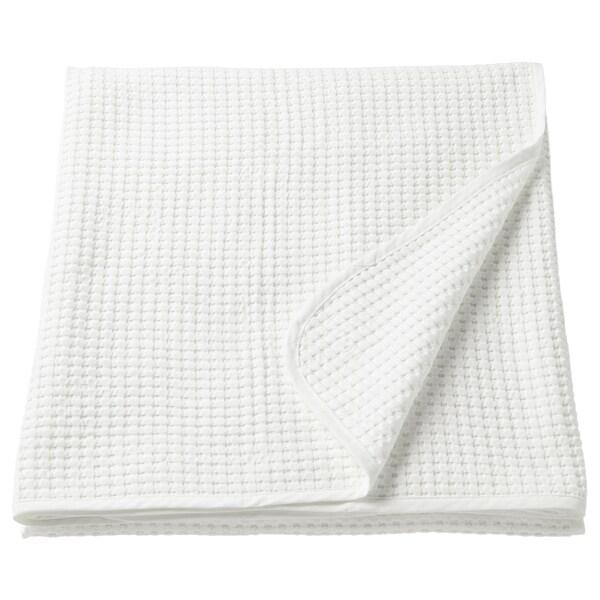 VÅRELD Tagesdecke, weiß, 150x250 cm