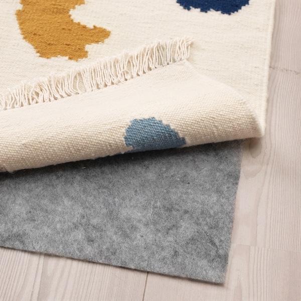 VIDEBÄK Teppich flach gewebt, Handarbeit/bunt, 133x195 cm