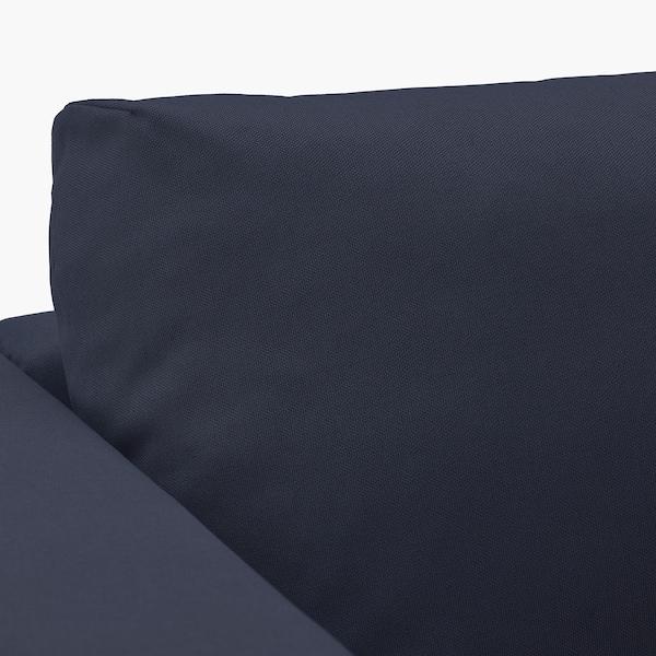 VIMLE 4er-Sofa mit Récamiere/Orrsta schwarzblau 83 cm 68 cm 164 cm 322 cm 98 cm 125 cm 6 cm 15 cm 68 cm 292 cm 55 cm 48 cm
