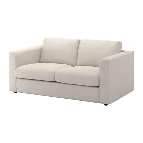 vimle 2er sofa gunnared beige ikea. Black Bedroom Furniture Sets. Home Design Ideas