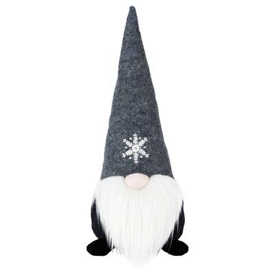 VINTER 2020 Dekoration, Weihnachtsmann grau, 35 cm