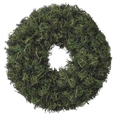 VINTER 2021 Kranz, Handarbeit grün, 23 cm