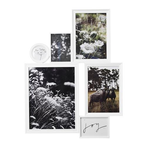 vitaby collage rahmen f r 6 fotos ikea. Black Bedroom Furniture Sets. Home Design Ideas