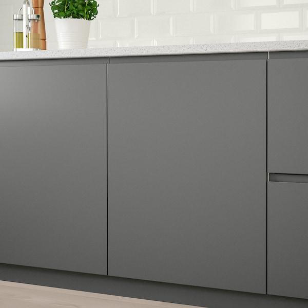 VOXTORP Tür, dunkelgrau, 20x80 cm