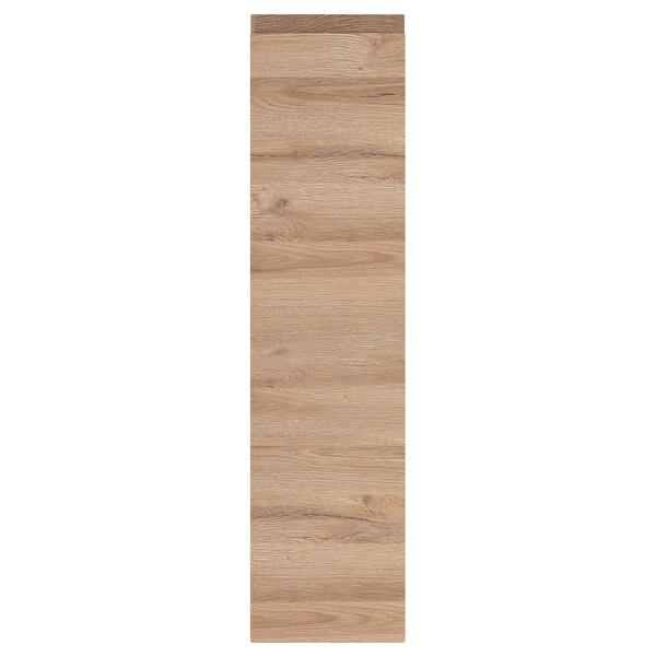 VOXTORP Tür, Eichenachbildung, 20x80 cm