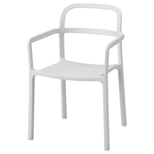 IKEA YPPERLIG Armlehnstuhl, drinnen/draußen