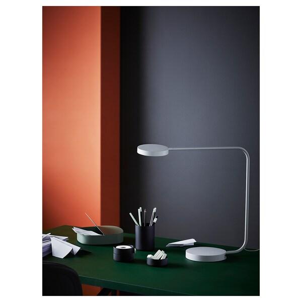 YPPERLIG Tischleuchte, LED, hellgrau