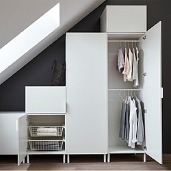 schlafzimmerm bel von ikea f r aufbewahrung nach mass ikea. Black Bedroom Furniture Sets. Home Design Ideas