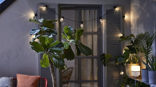 Dekorative Gartenbeleuchtung & Balkonbeleuchtung
