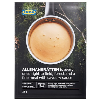 ALLEMANSRÄTTEN Mix for cream sauce