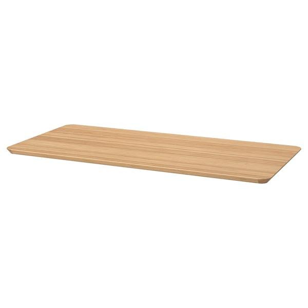 ANFALLARE / HILVER Desk, bamboo, 140x65 cm