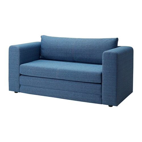 ASKEBY Two seat sofa bed blue IKEA