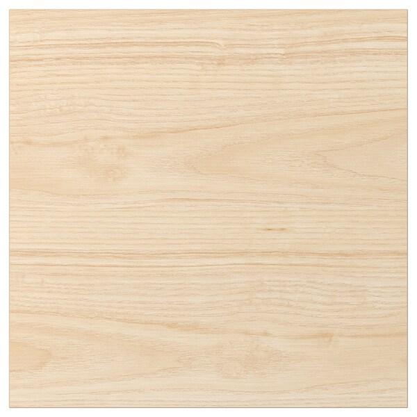ASKERSUND Door, light ash effect, 40x40 cm