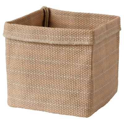 BASSÄNG Basket, jute/natural, 30x30x35 cm