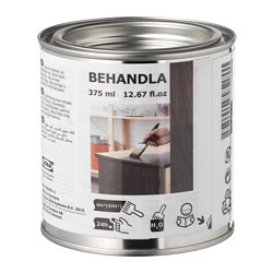 BEHANDLA glazing paint, black