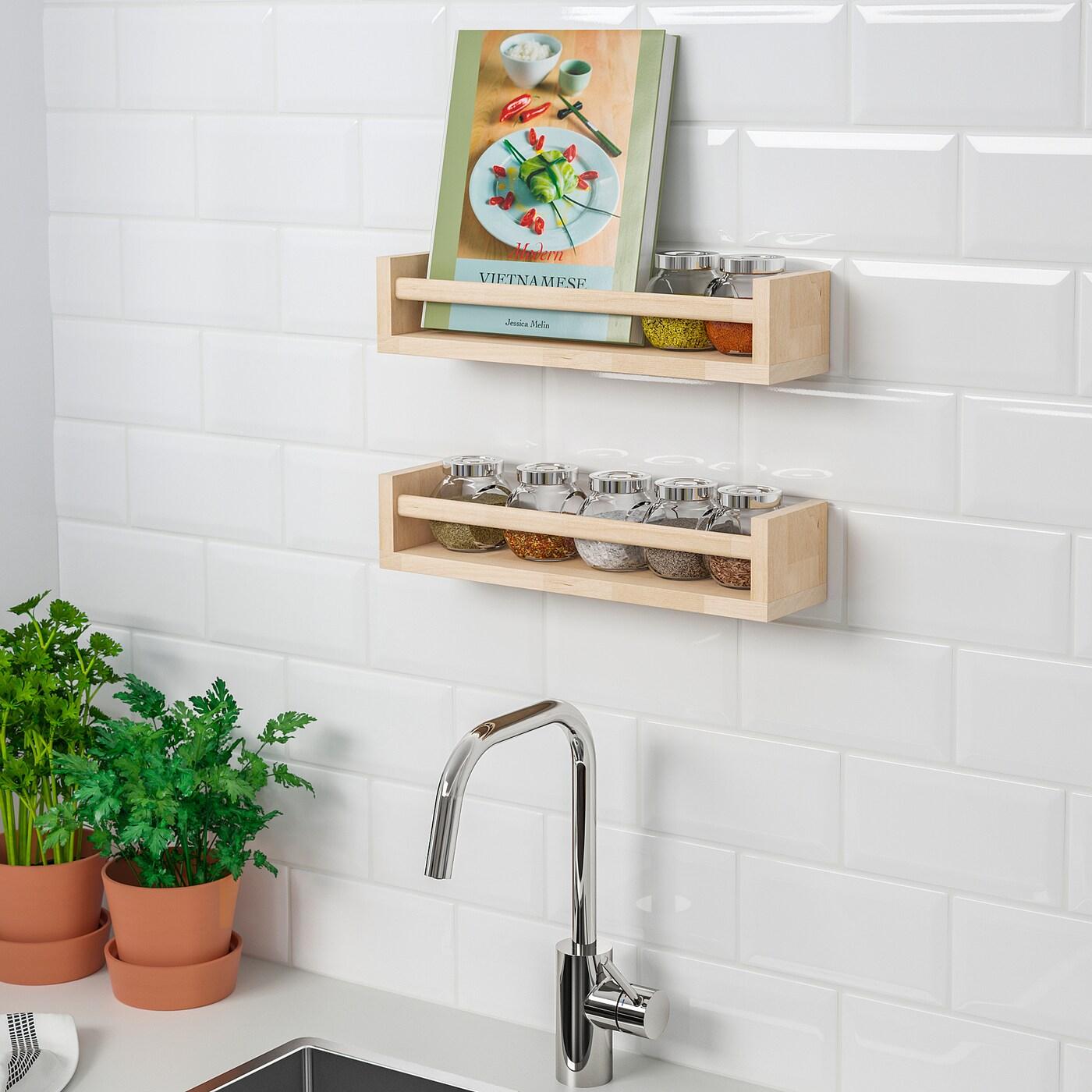 Mensole Ikea Cucina Prezzi bekvÄm spice rack - birch