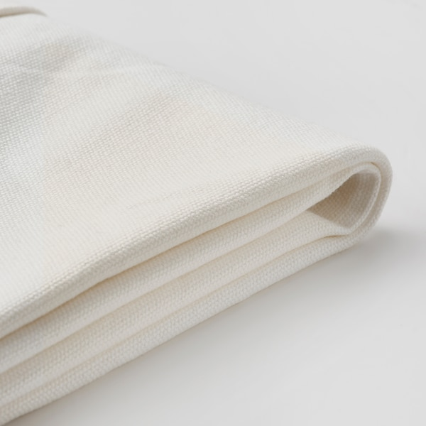 BERGMUND Chair cover, medium long, Inseros white