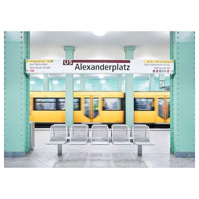 BILD Poster, Alexanderplatz, Berlin, 70x50 cm