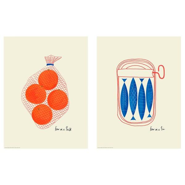 BILD Poster, Oranges, 30x40 cm