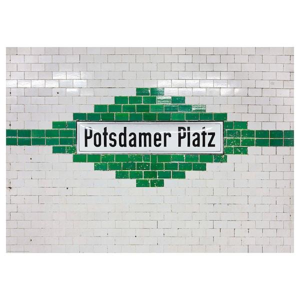BILD Poster, potsdamer platz, Berlin, 70x50 cm