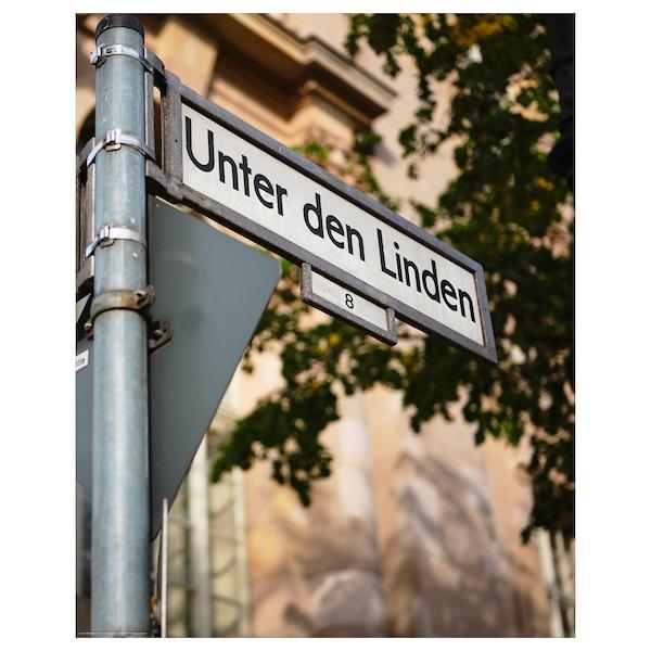 BILD Poster, street, Berlin, 40x50 cm