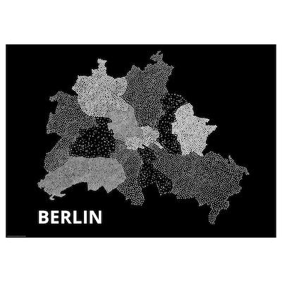BILD Poster, tiny-dots, Berlin 2, 70x50 cm