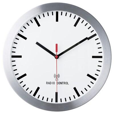 BURRIG Radio-controlled wall clock, 30 cm