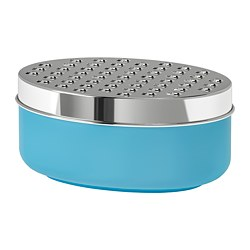 CHOSIGT grater with container, blue