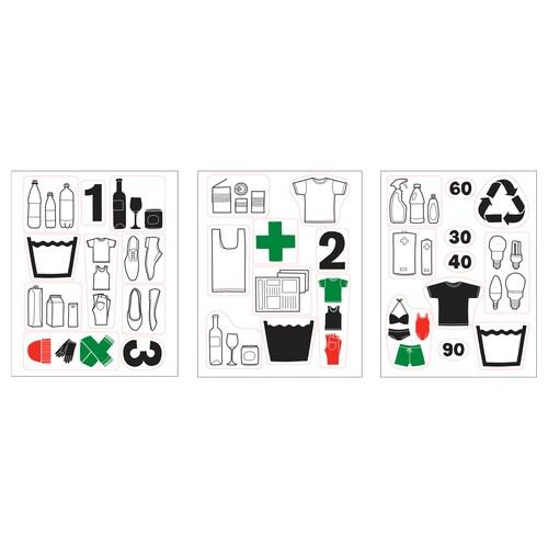 IKEA DALLIDEN Decoration stickers
