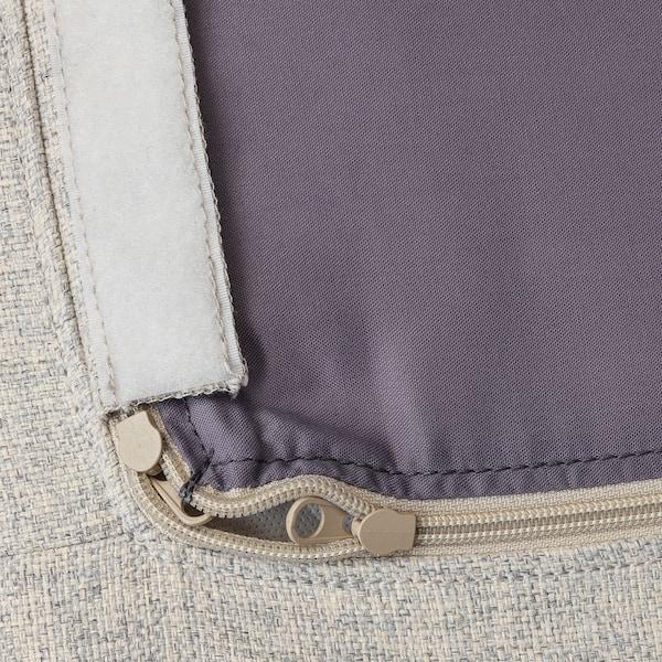 DELAKTIG cover for seat cushion, armchair Gunnared beige