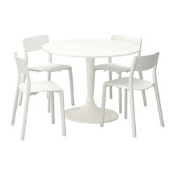 DOCKSTA /  JANINGE Table and 4 chairs