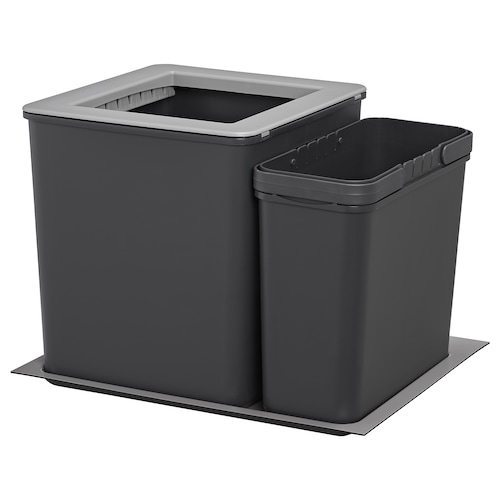 IKEA EBBEBO Waste bins for cabinet with drawer