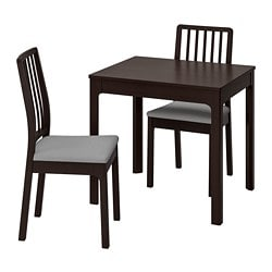 EKEDALEN /  EKEDALEN Table and 2 chairs