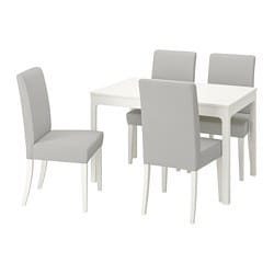 EKEDALEN /  HENRIKSDAL Table and 4 chairs