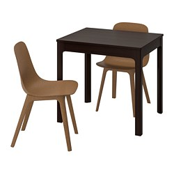 EKEDALEN /  ODGER Table and 2 chairs